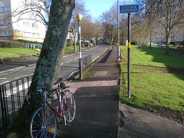 The photo for Harborne Lane Cycleway <-> Vincent Drive.
